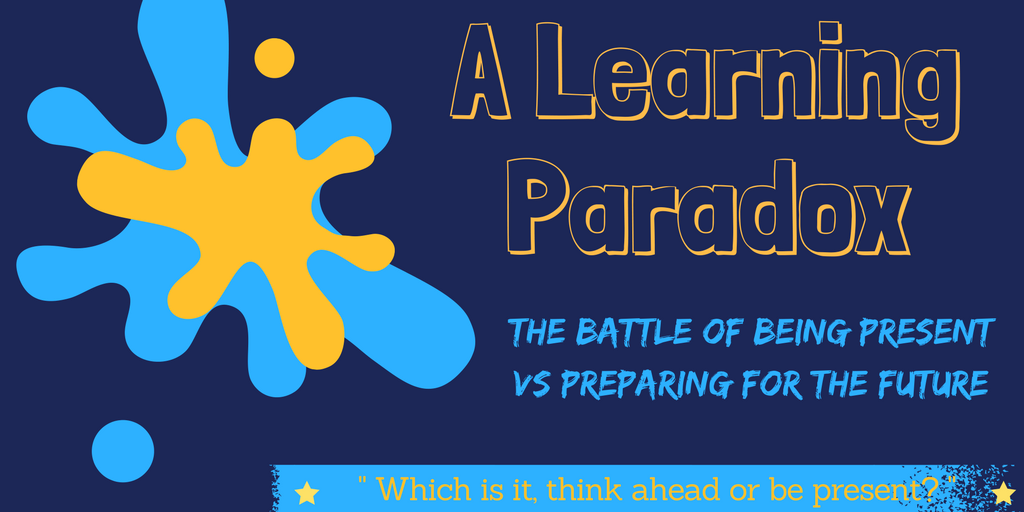 A Learning Paradox