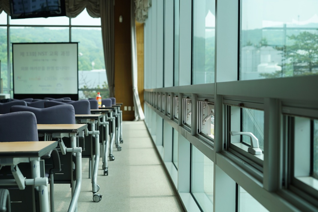 glass classroom