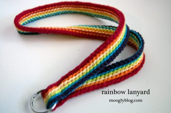 Rainbow-Lanyard
